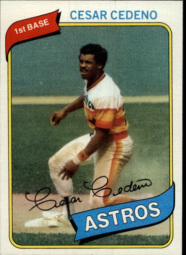 Photo of 1980 Topps #370 Cesar Cedeno