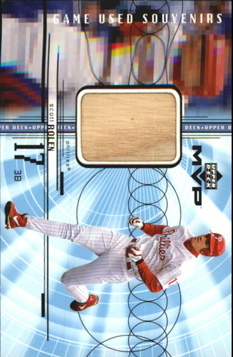 Photo of 1999 Upper Deck MVP Game Used Souvenirs #GUSR Scott Rolen