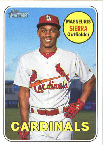 Photo of 2018 Topps Heritage #378 Magneuris Sierra