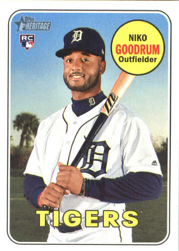 Photo of 2018 Topps Heritage #534 Niko Goodrum RC