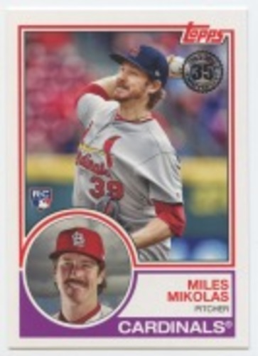 Photo of 2018 Topps Update '83 Topps #8336 Miles Mikolas