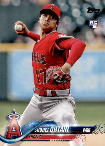 Photo of 2018 Topps Update #US1 Shohei Ohtani Rookie Card