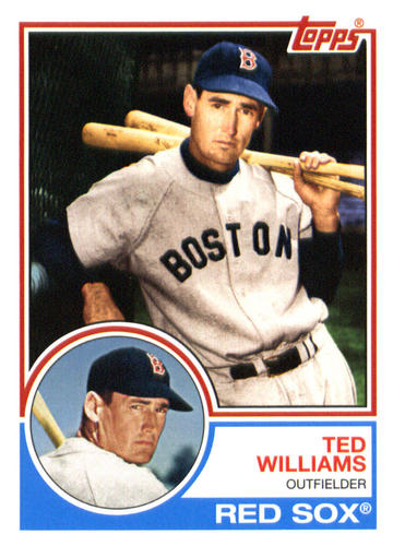 Photo of 2015 Topps Archives #275 Ted Williams