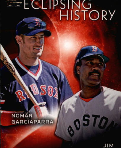 Photo of 2015 Topps Eclipsing History #EH8 Jim Rice/Nomar Garciaparra