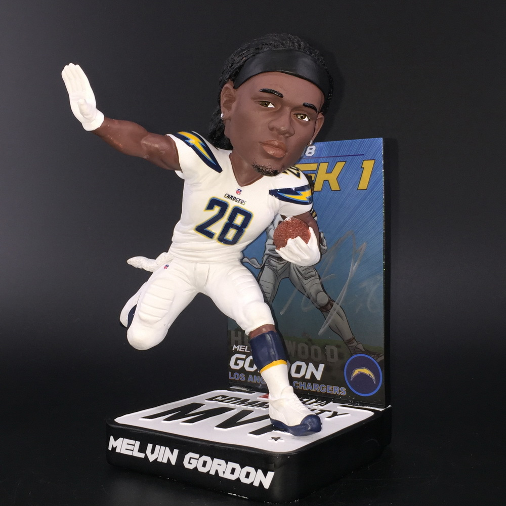 Chargers - Melvin Gordon Signed Limited Edition Bobble Head