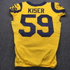 STS - Rams Micah Kiser Historic Monday Night Game Used Jersey Size 42 (11/19/18)