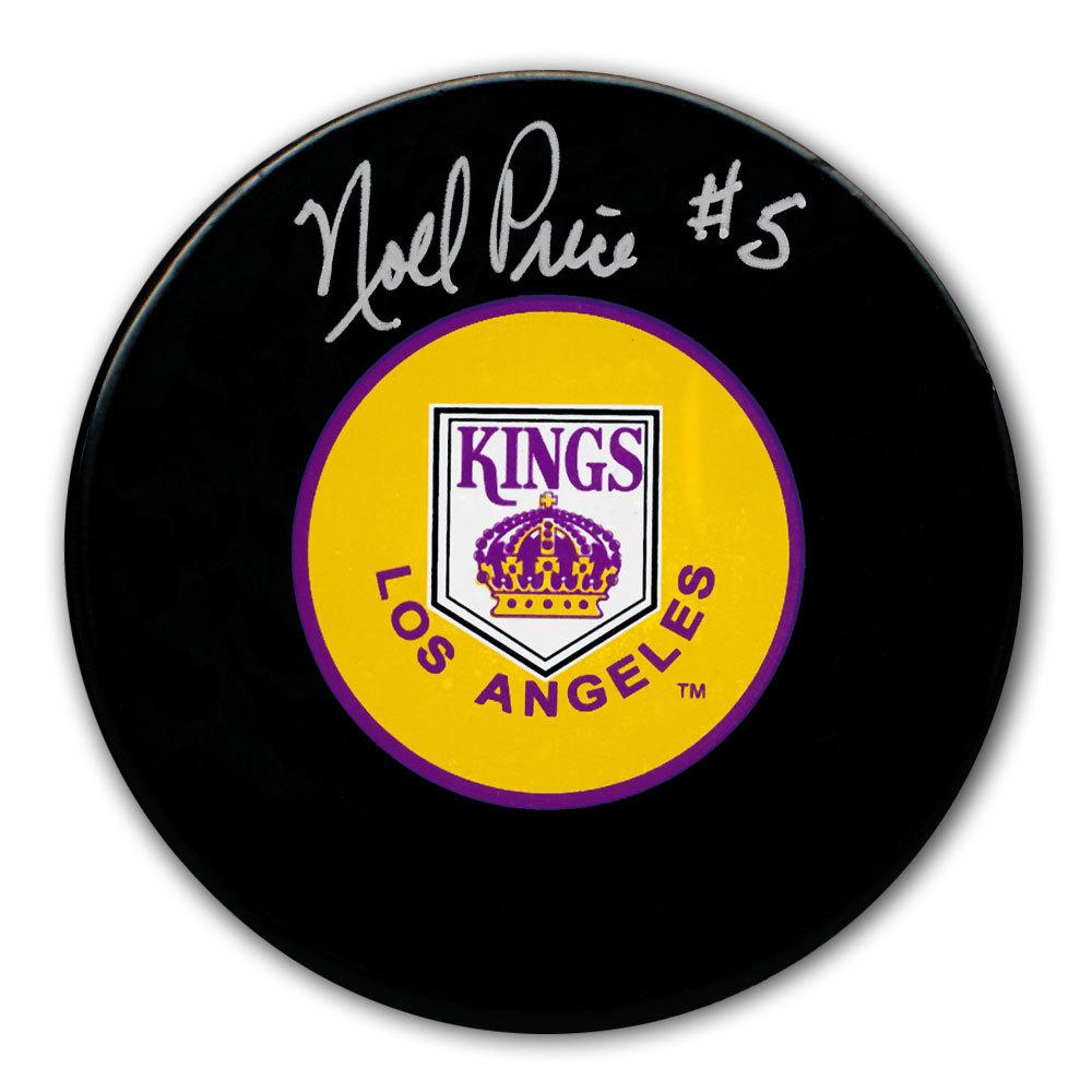 Noel Price Los Angeles Kings Autographed Puck