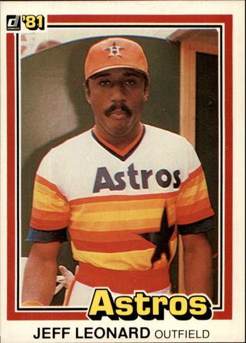 Photo of 1981 Donruss #264 Jeff Leonard