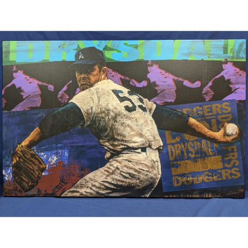 Photo of Don Drysdale Giclée Canvas by Stephen Holland