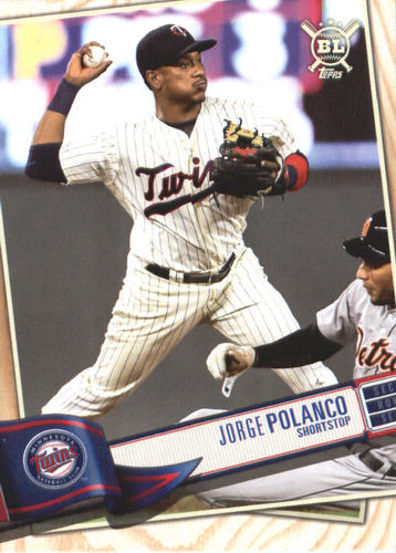 Photo of 2019 Topps Big League #315 Jorge Polanco