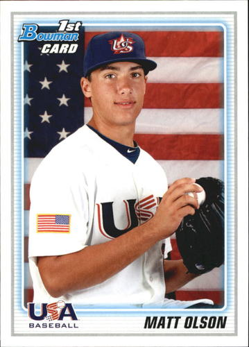 Photo of 2010 Bowman Draft Prospects #BDPP104 Matt Olson