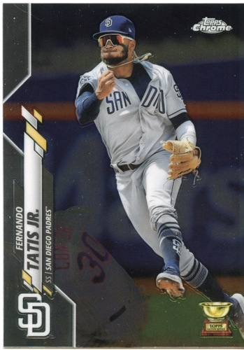 Photo of 2020 Topps Chrome #84 Fernando Tatis Jr.
