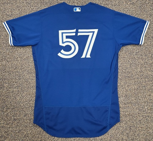 Photo of Authenticated Team Issued 2020 Spring Training Jersey: #57 Trent Thornton. Size 46