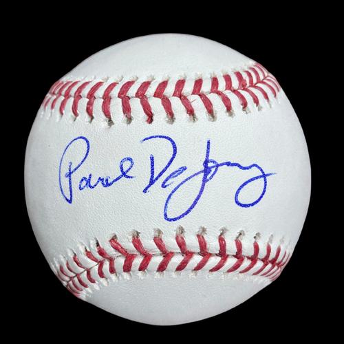 Paul DeJong Autographed Baseball