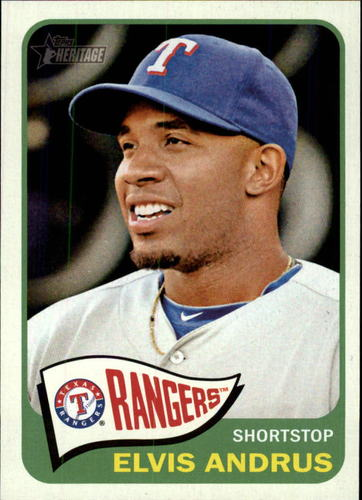 Photo of 2014 Topps Heritage #326 Elvis Andrus