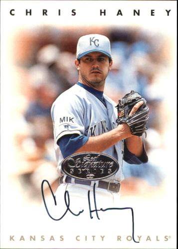 Photo of 1996 Leaf Signature Autographs Silver #93 Chris Haney