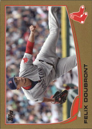 Photo of 2013 Topps Gold #508 Felix Doubront