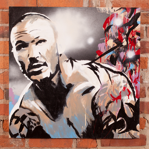Randy Orton Champions Collection Painting by Rob Schamberger