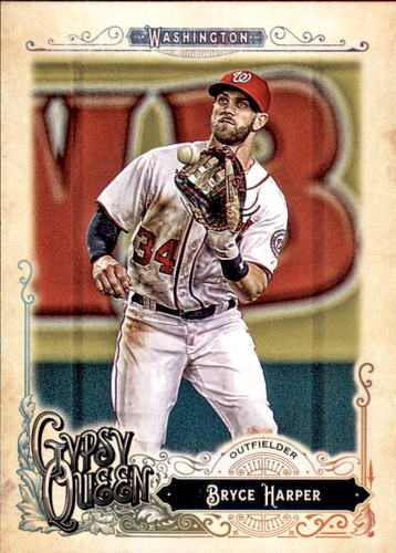 Photo of 2017 Topps Gypsy Queen #171A Bryce Harper