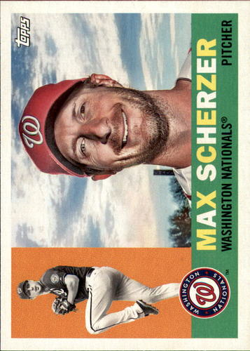 Photo of 2017 Topps Archives #80 Max Scherzer