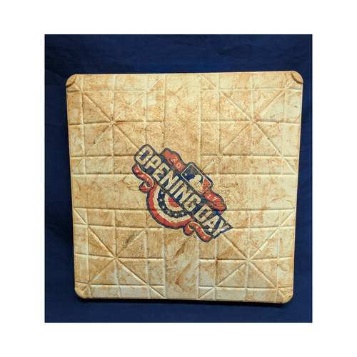 Photo of 2017 Opening Day Game-Used 2nd Base -  Los Angeles Angels v Seattle Mariners