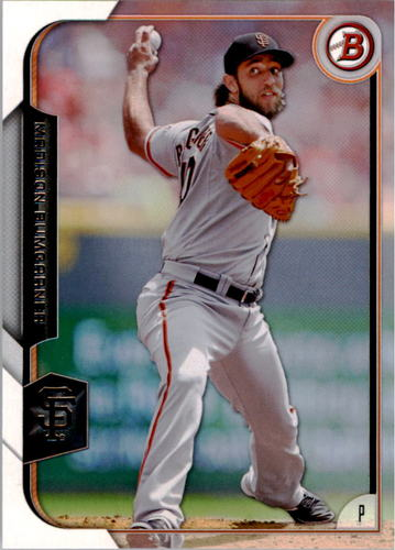 Photo of 2015 Bowman #100 Madison Bumgarner