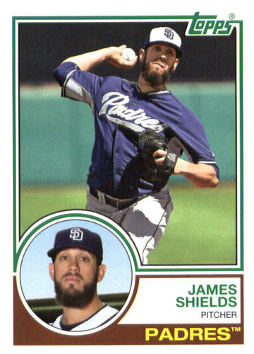 Photo of 2015 Topps Archives #236 James Shields