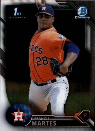 Photo of 2016 Bowman Chrome Prospects #BCP34 Francis Martes