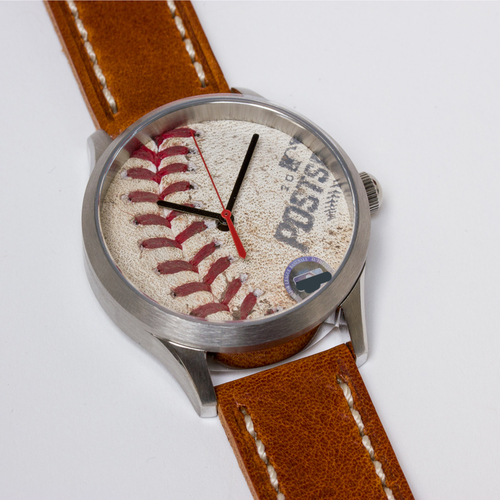 Photo of Tokens & Icons Chicago Cubs 2016 NLDS Game Used Baseball Watch