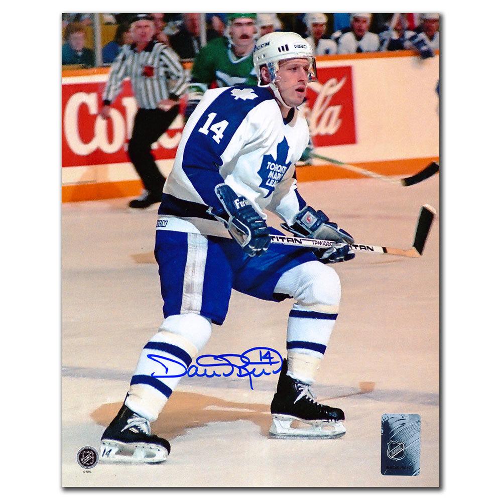 Dave Reid Toronto Maple Leafs RUSH Autographed 8x10