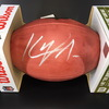 NFL - Panthers Kyle Allen Signed Authentic Football