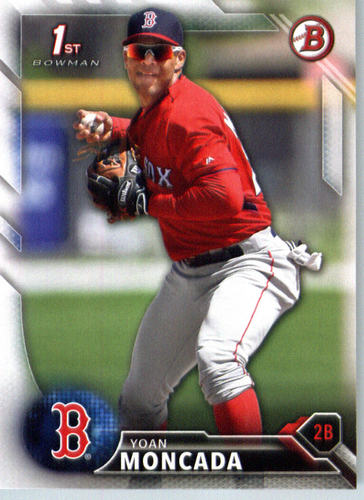 Photo of 2016 Bowman Prospects #BP148 Yoan Moncada
