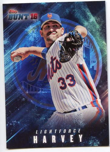 Photo of 2016 Topps Bunt Light Force #LF11 Matt Harvey