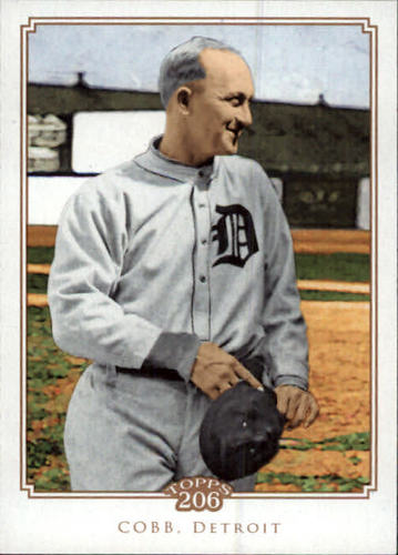 Photo of 2010 Topps 206 #165 Ty Cobb