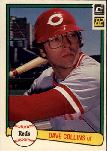 Photo of 1982 Donruss #169 Dave Collins