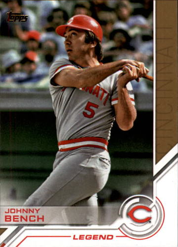 Photo of 2017 Topps Salute #S7 Johnny Bench