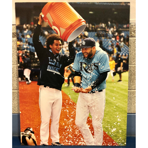 Photo of Canvas Poster: Kevin Kiermaier & Chris Archer - LOCAL PICKUP ONLY