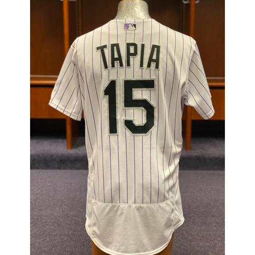 Colorado Rockies Game-Used 2020 Jersey: Raimel Tapia