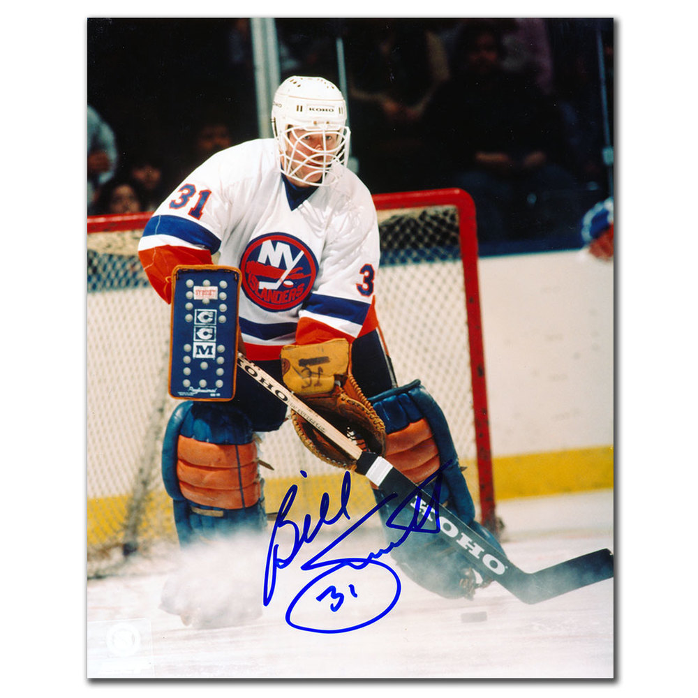 Billy Smith New York Islanders ACTION Autographed 8x10 Photo