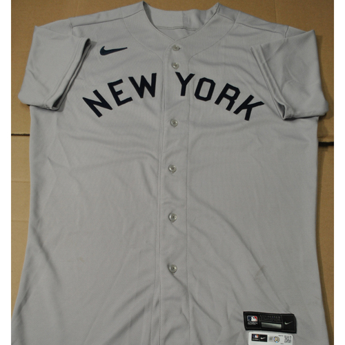Photo of 2021 New York Yankees vs. Chicago White Sox in Dyersville, Iowa - Game-Used 1919 Throwback Jersey - Brooks Kriske - Size 44