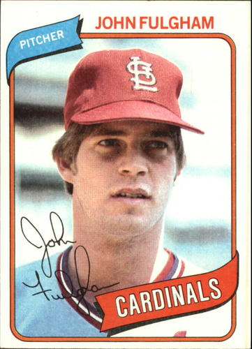 Photo of 1980 Topps #152 John Fulgham RC