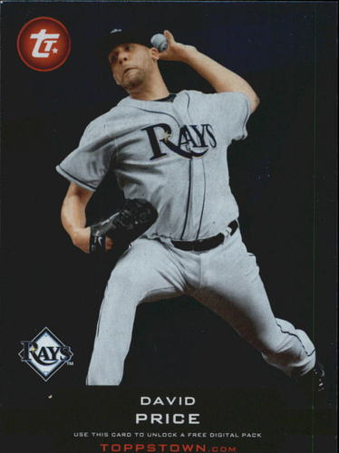 Photo of 2011 Topps Topps Town #TT35 David Price
