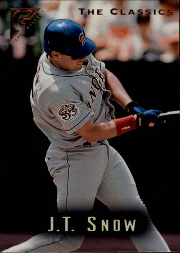 Photo of 1996 Topps Gallery #41 J.T. Snow