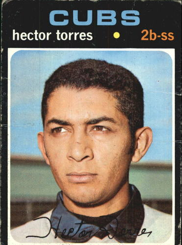 Photo of 1971 Topps #558 Hector Torres