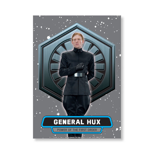 General Hux 2016 Star Wars The Force Awakens Chrome Metal Poster - # to 99