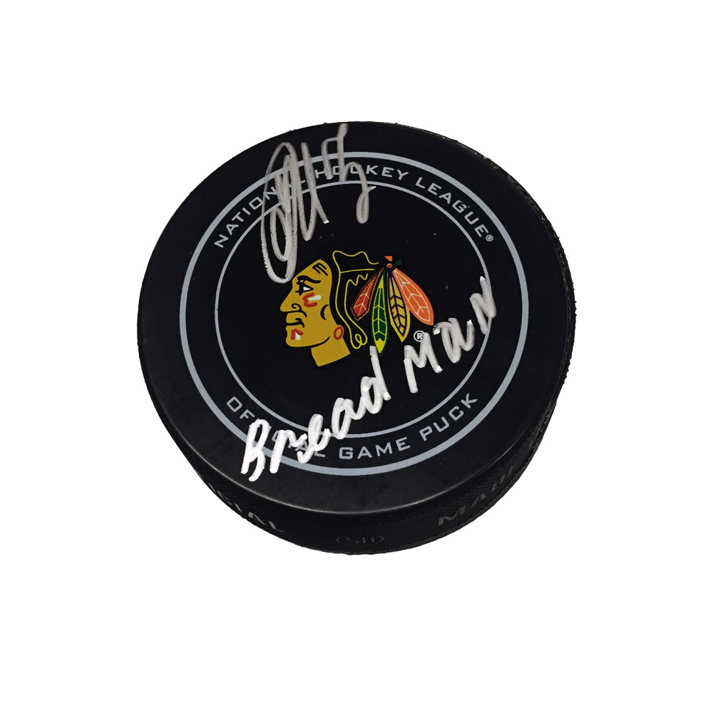 ARTEMI PANARIN Signed Chicago Blackhawks Official Game Puck with
