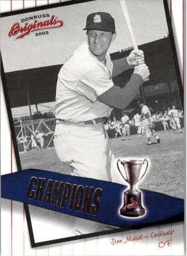 Photo of 2002 Donruss Originals Champions #21 Stan Musial