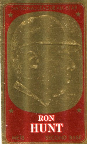 Photo of 1965 Topps Embossed #35 Ron Hunt