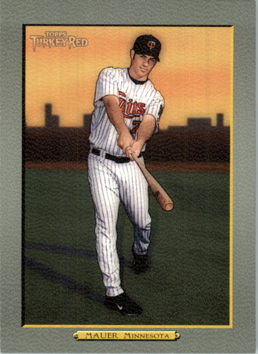 Photo of 2005 Topps Turkey Red #87 Joe Mauer SP