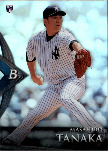 Photo of 2014 Bowman Platinum #77 Masahiro Tanaka  Rookie Card